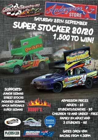 Rocky Speedway Round One Super Stocker 2020 poster